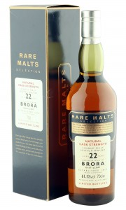 Brora 1972 22 Year Old, 61.1% ABV, Rare Malts Selection with Box