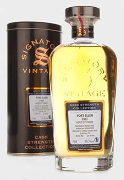 Port Ellen 1983, 27 year old, Signatory Vintage 2010